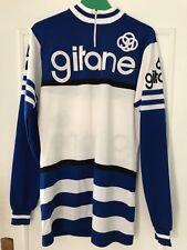 Gitane Maillot Velo Neuf 80s Sz XL Bike Shirt Velo Course France Rare Vintage