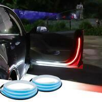 2pcs Car Door Open Warning Lamp Flowing Flashing LED Lights Strip Anti-collision