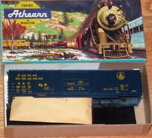 ATHEARN 1337 50 FT BOXCAR KIT BALTIMORE & OHIO B&O 481210