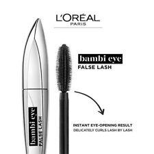 L'OREAL Paris Bambi Eye False Lash Eye Opening Curling Mascara Black - New