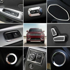 2011-2018 For Jeep Grand Cherokee Interior Accessories Cover Trim Full Kit 18pcs