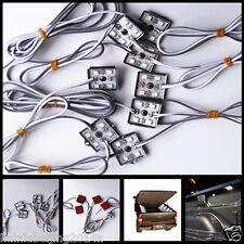32 White LED Lighting Pick-Up Truck Bed Rear Work Box System Light Kit For Ford