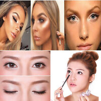Professional Face Highlighter Powder Bronzer Palette Eyeshadow Contour Cosmetic