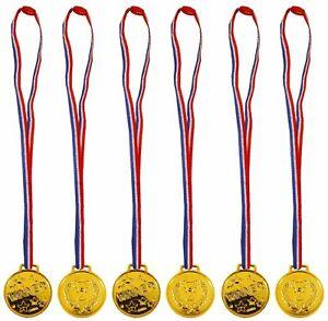 Children's Gold Medal Sports Day School Party Award Fun Run Kids Winner Event UK
