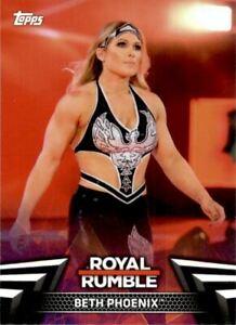 2018 Topps WWE Women's Division Women's Royal Rumble #RR18 Beth Phoenix