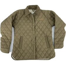 Tuff Rider Women's Equestrian Quilted Coat Jacket M/L? Brown Riding Ride N Go