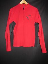 The North Face Red 1/4 Zip Lightweight Fleece Shirt Jacket NEW  Men's M T3J