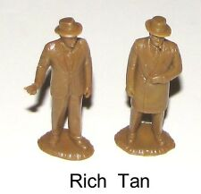 Marx reissue Untouchables Ness & Capone figs, NOW IN RICH TAN     BH