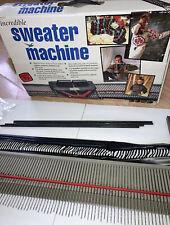 The Incredible Sweater Machine By Bond  Vintage EUC Original Box No video