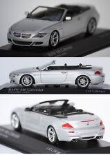 Minichamps BMW M6 Cabriolet 2006 Silver 1/43 431026130