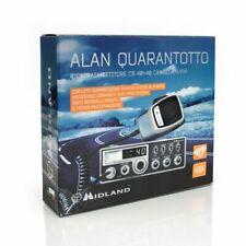 MIDLAND ALAN48 QUARANTOTTO NUOVO CB VEICOLARE AM-FM 40 CANALI - RETROILLUMINATO