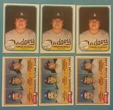 FERNANDO VALENZUELA 1981 TOPPS/FLEER ROOKIE CARD LOT