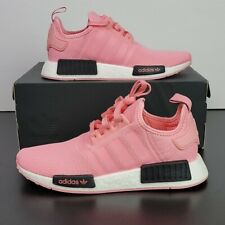 New Adidas Originals NMD_R1 Boost Pink Black Shoes B42086 Women's US Size 7.5/6Y
