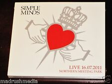 SIMPLE MINDS Live 16.07.2011 Northern Meeting Park 2 CD SET 4worlds COFFRET NEUF