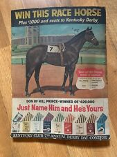 Kentucky Club Derby Contest Son Of Hill Prince Advertising Sign