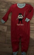 Hatley Boys Outfit One Piece Size 6-12 Months Pirate