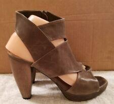 Coclico Fabiana Size EU 38.5, US 8 Brown Soft Leather High Heel