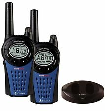 Cobra MT975 Walkie Talkie Radio Twin Pack 8 Channels Baby Monitor Long Range sca
