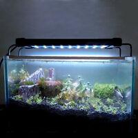 LED Light HIGH LUMEN Aquarium Fish Tank White Blue Extendable New