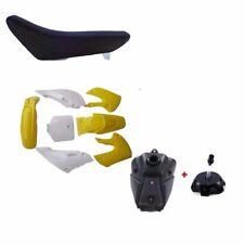 KAWASAKI KLX110 KX65 PLASTICS + Seat + FUEL TANK SUZUKI DRZ110 RM65 PIT BIKE