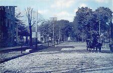 c1910 Lockport, NY:  View down Niagara Street
