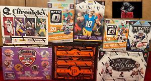 Cincinnati Bengals 2020 Football Mix Box Break National Treasures Origins