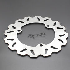 Rear Brake Disc Rotor Yamaha R25 R3 2015-2016 Silver Motorcycle Stainless Steel
