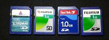 X4 1GB SD Memory Card Lot - For Digital Camera UK