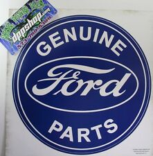Removable peel stick Wall art Genuine Ford Parts sticker decal kids room shop