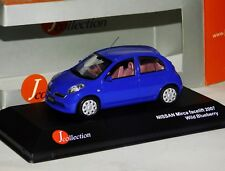 NISSAN MICRA FACELIFT 2007 WILD BLUEBERRY J COLLECTION JC162 1/43