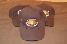 New Brown Hyp Gear Distressed Baseball Hat Cap 2 Point One Size Fits Most