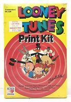 Sealed! 1989 Hi Tech (Commodore 64/128) Looney Tunes PRINT KIT Computer Software