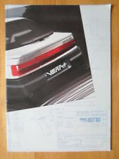 PEUGEOT TALBOT gamme ORIG UK 1983 Marketing vente brochure-Rancho Samba Tagora Alpine