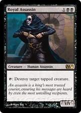 ROYAL ASSASSIN M11 Magic 2011 MTG Black Creature — Human Assassin RARE