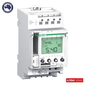 Clipsal CCT15551 Digital Timer Time Switch Plus 24H 7D IHP P 1C V1 A9