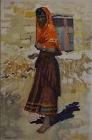 Impressionist Karl Adser 1912-1995 Tunesierin Tunis - North Africa - Oil