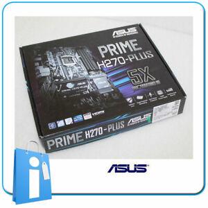 Placa base ATX H270 ASUS H270-PLUS Socket 1151 con Accesorios
