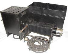 Antique Delineascope Spencer Lens Buffalo NY Model 1 Slide Projector Tray Case!
