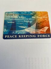 $100 Satellite Phone Card INTERFET East Timor Peace Keeping Force