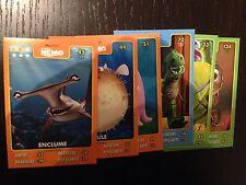 Lot 6 cartes Disney Pixar Auchan 2015 toutes différentes