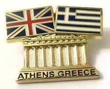 Pin Spilla Olimpiadi Athens 2004 Greece/UK Flags