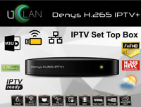 Denys H 265 Iptv+ Uclan Iptv Box Stalker Linux  Youtube Ott Xtream Full Hd Lan W