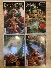 4 Issue Set: Dejah Of Mars #1-4   Dynamite Comics 2014