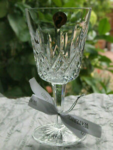 Waterford Crystal Lismore Goblet / Wine Glass 10oz. New made in Ireland