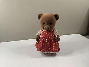Vintage Sylvanian Families Momma Bear story teller used