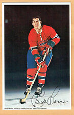1969-71 Canadiens (Pro Star Promotions) Team Issued Postcard, Claude Larose, MT