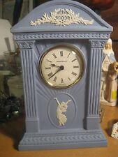 Wedgewood Jasperware Blue England 2000 AD Milennium Clock