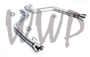 """3"""" Axle Back Exhaust Muffler Replacement Kit For 15-20 Dodge Charger 6.2L/6.4L"""