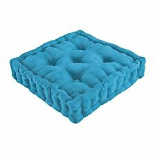 Tufted Support Padded Booster Cushion -Blue
