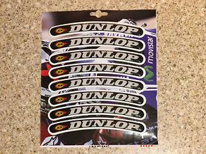 Dunlop Wheel Rim Stickers Decals 3D Gel spoke wraps